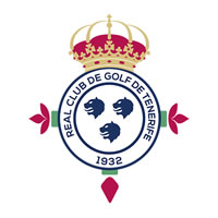 logo del real club de golf de Tenerife